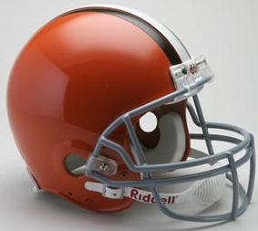 Cleveland Browns 1962 to 1974 Football Helmet