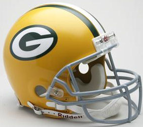 Green Bay Packers 1961 to 1979 Football Helmet
