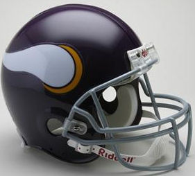Minnesota Vikings 1961 to 1979 Football Helmet