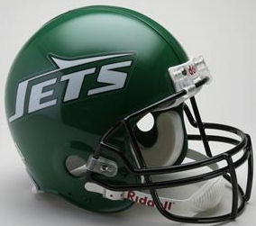 New York Jets 1990 to 1997 Football Helmet