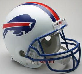 Buffalo Bills 1976 to 1983 Football Helmet