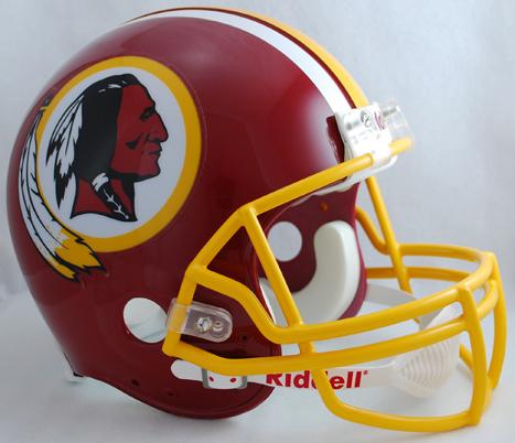 Washington Redskins 1982 Football Helmet