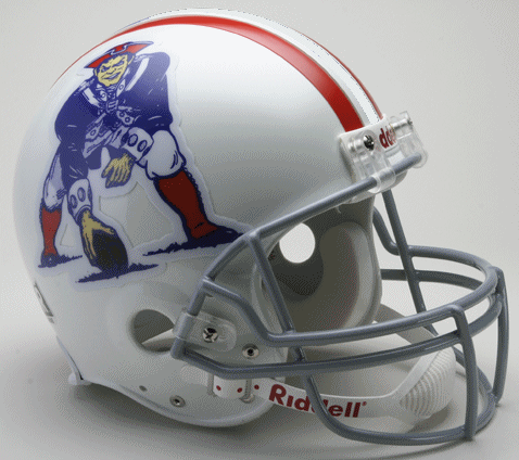 New England Patriots 1961 to 1964 Football Helmet