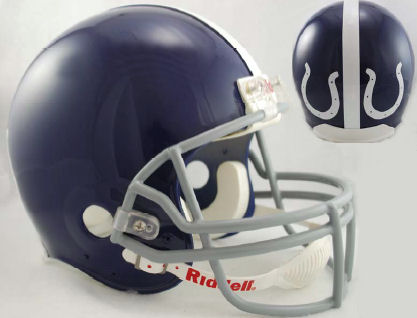 Indianapolis Colts 1955 Football Helmet