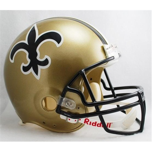 New Orleans Saints 1976 to 1999 Football Helmet