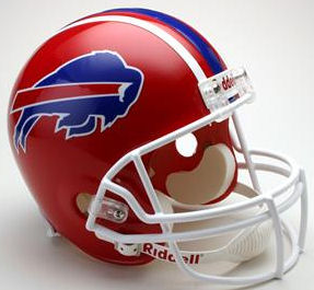 Buffalo Bills 1987 to 2001 Full Size Replica Throwback Helmet
