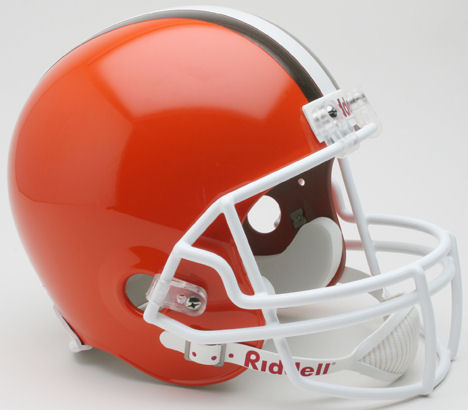 Cleveland Browns 1975 to 2005 Full Size Replica Throwback Helmet