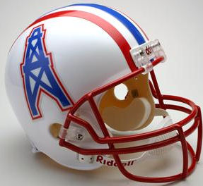 Houston Oilers 1981 to 1996 Full Size Replica Throwback Helmet