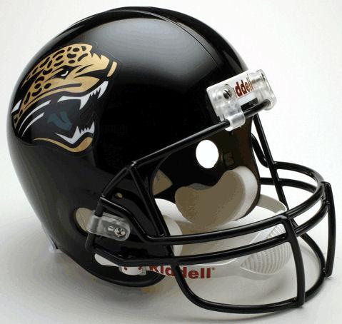 Jacksonville Jaguars 1995 to 2012 Full Size Replica Throwback Helmet