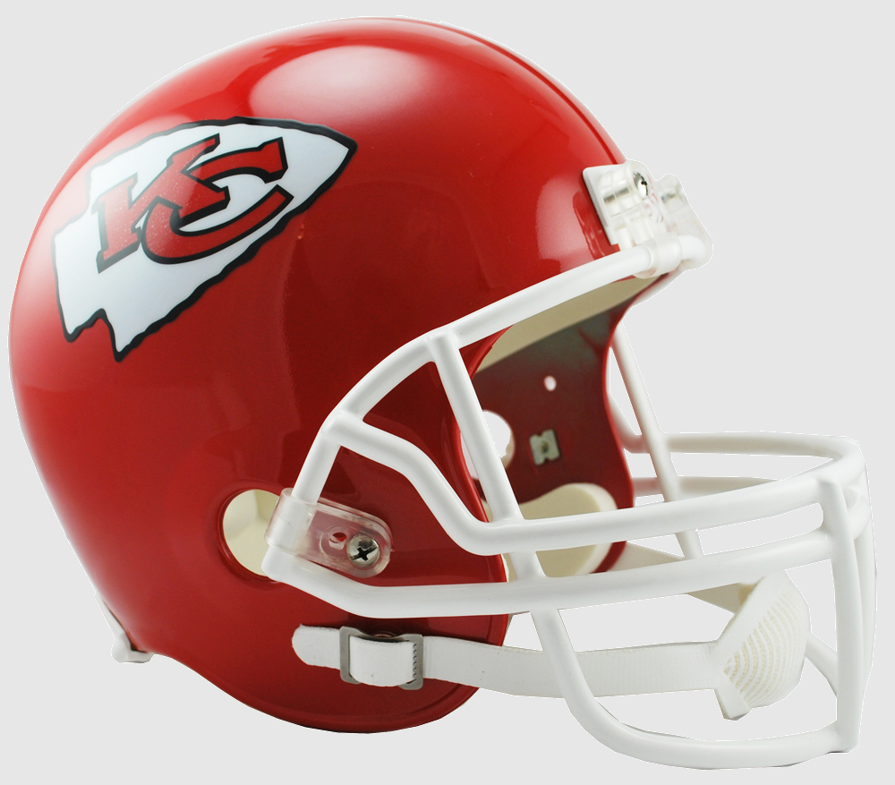 Kansas City Chiefs Full Size Replica Football Helmet