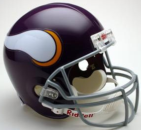 Minnesota Vikings 1961 to 1979 Full Size Replica Throwback Helmet