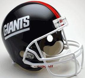 New York Giants 1981 to 1999 Full Size Replica Throwback Helmet