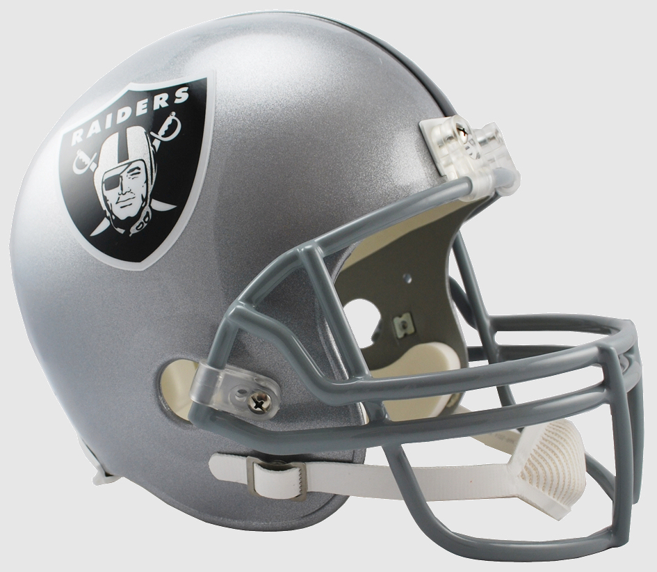 Oakland Raiders Full Size Replica Football Helmet