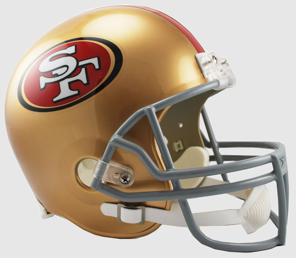 San Francisco 49ers Full Size Replica Football Helmet