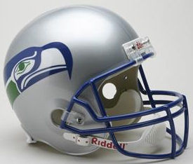 Seattle Seahawks 1983 to 2001 Full Size Replica Throwback Helmet
