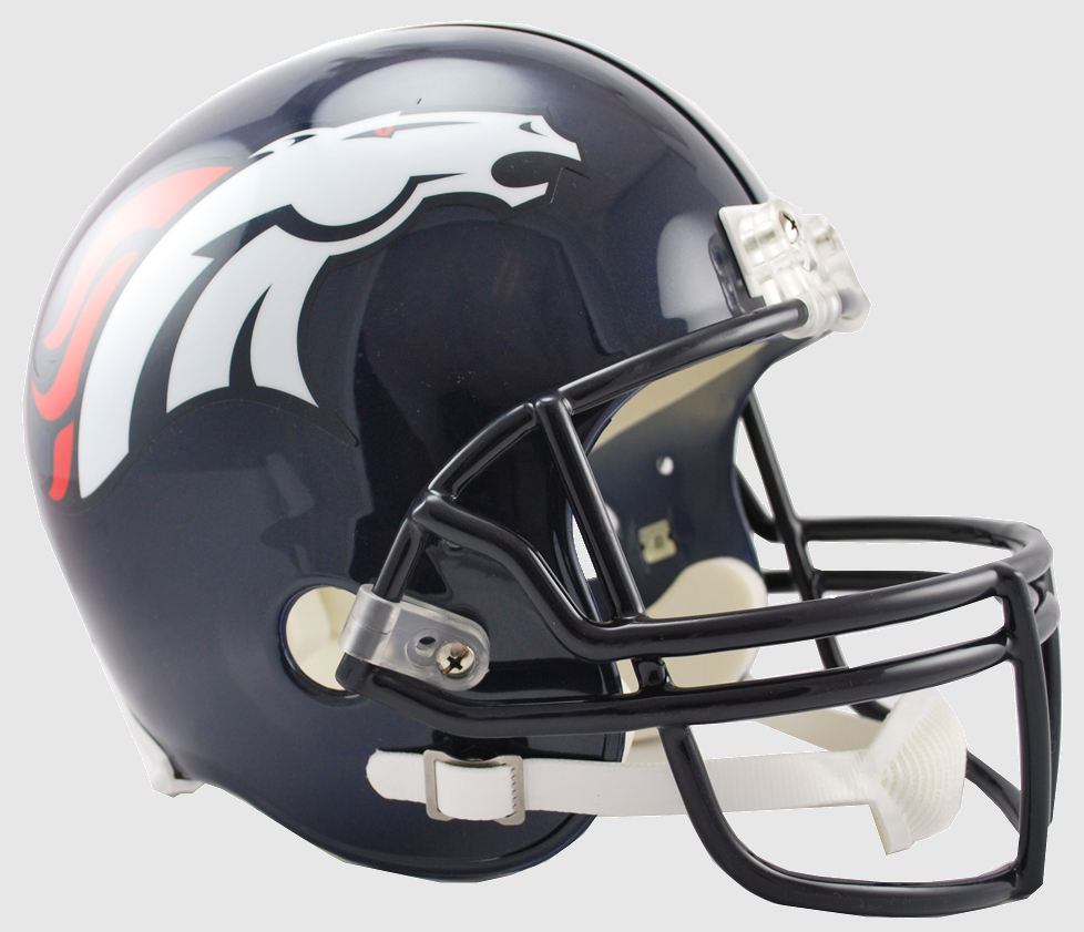 Denver Broncos Full Size Replica Football Helmet