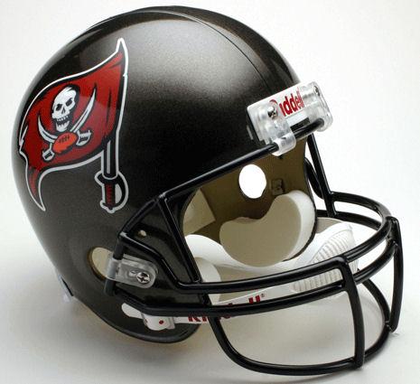 Tampa Bay Buccaneers 1997 to 2013 Full Size Replica Throwback Helmet