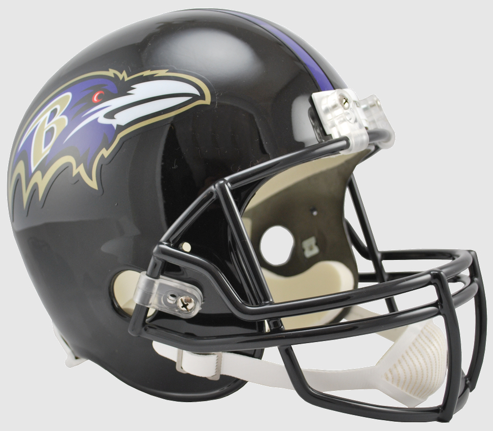 Baltimore Ravens Full Size Replica Football Helmet