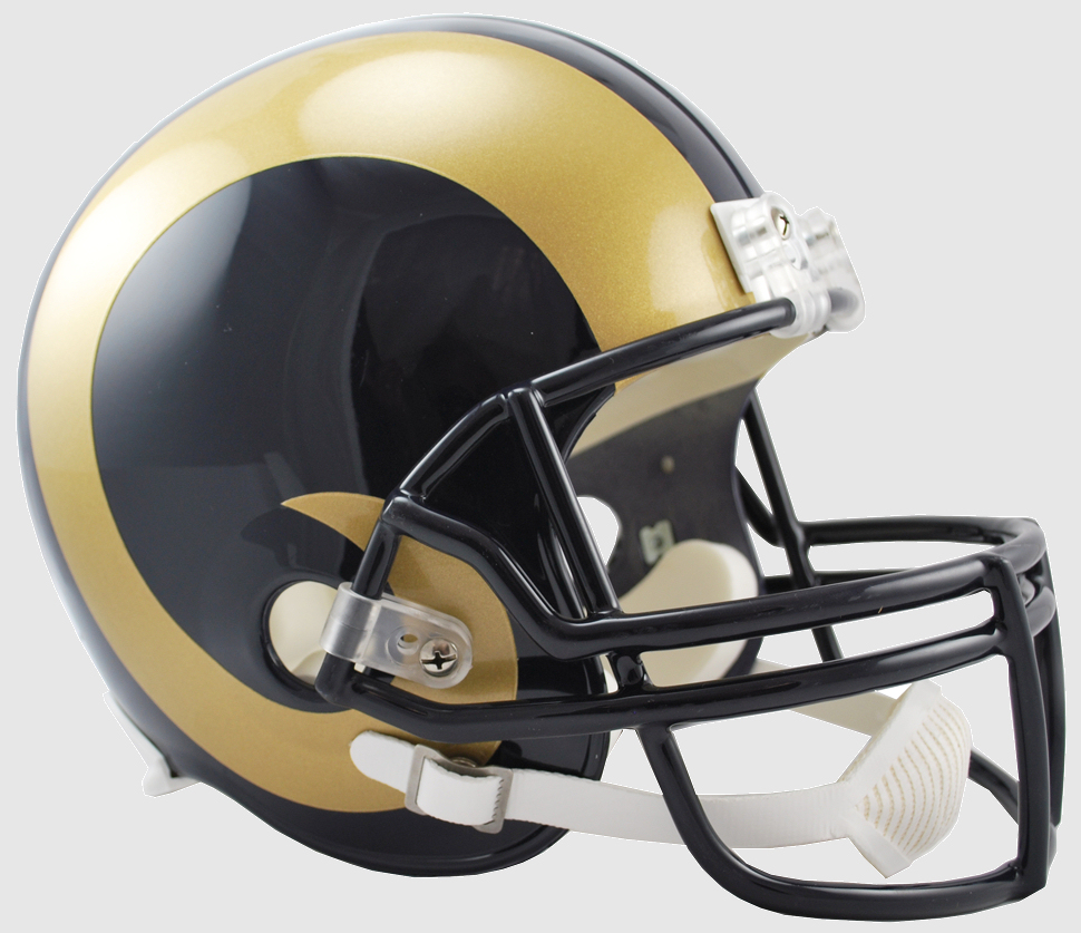 St. Louis Rams 2000 to 2016 Full Size Replica Throwback Helmet