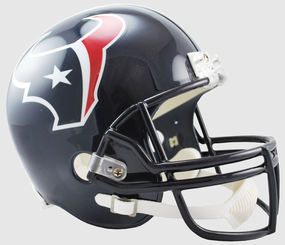 Houston Texans Full Size Replica Football Helmet
