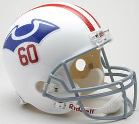 New England Patriots 1960 Full Size Replica Throwback Helmet