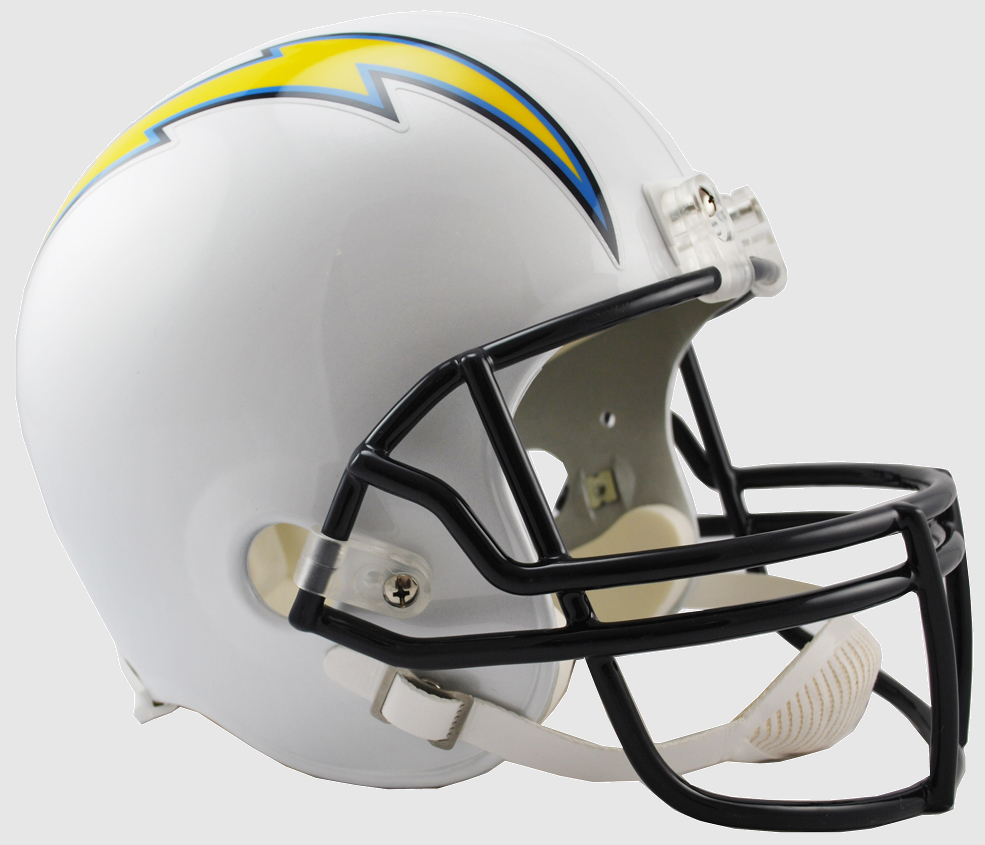 Los Angeles Chargers Full Size Replica Football Helmet