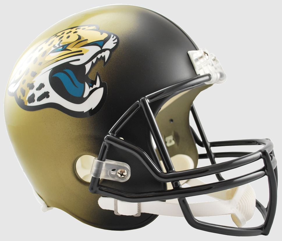 Jacksonville Jaguars 2013 to 2017 Full Size Replica Throwback Helmet