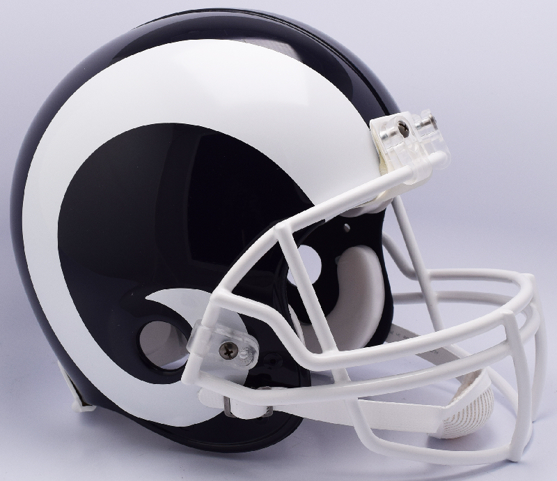 Los Angeles Rams Football Helmet <B>NEW 2017</B>