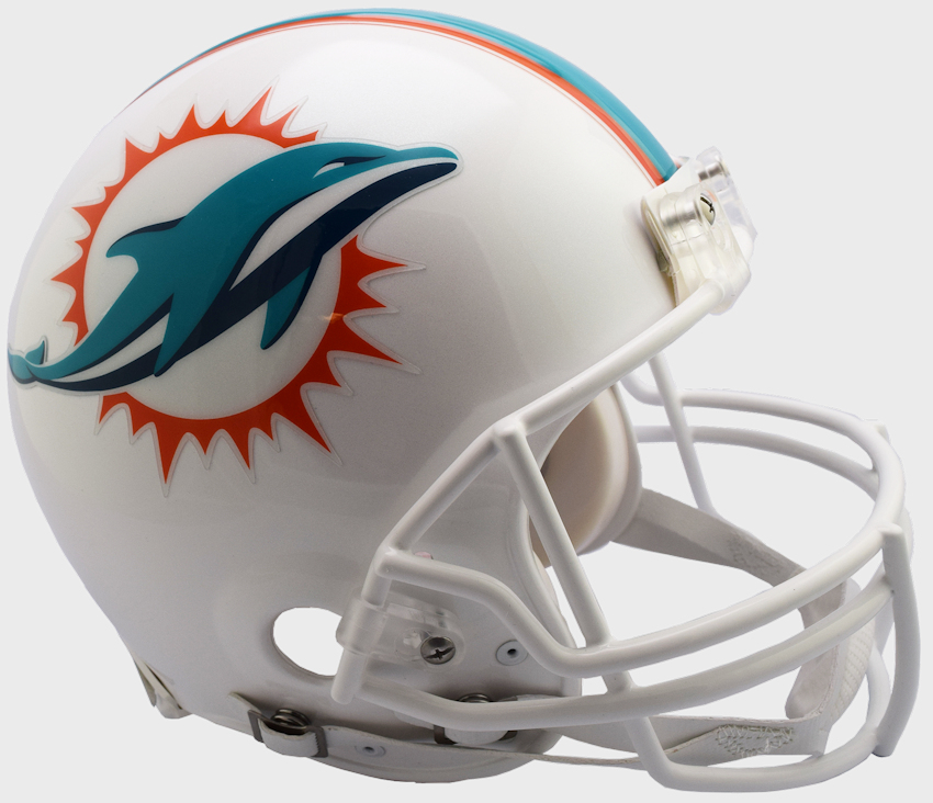 Miami Dolphins Football Helmet <B>NEW 2018</B>