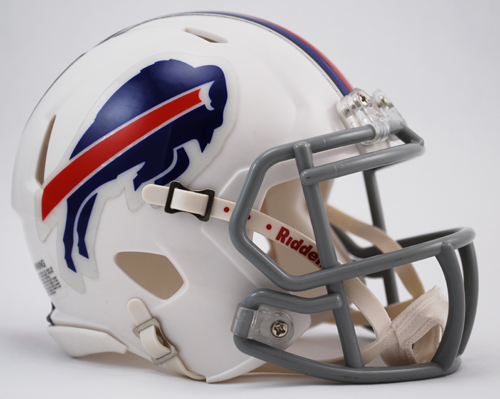 Buffalo Bills NFL Mini Speed Football Helmet