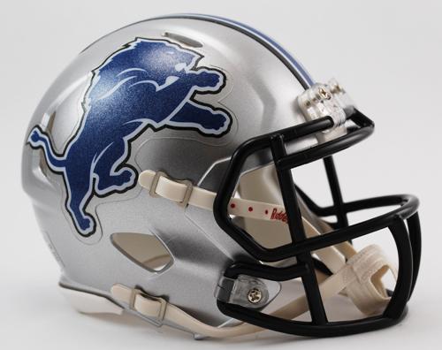 Detroit Lions NFL Mini Speed Football Helmet