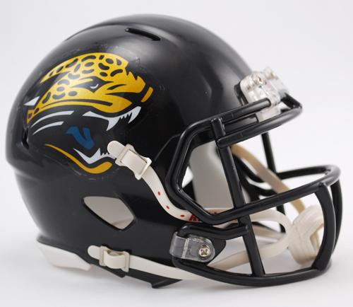 Jacksonville Jaguars NFL Mini Speed Football Helmet