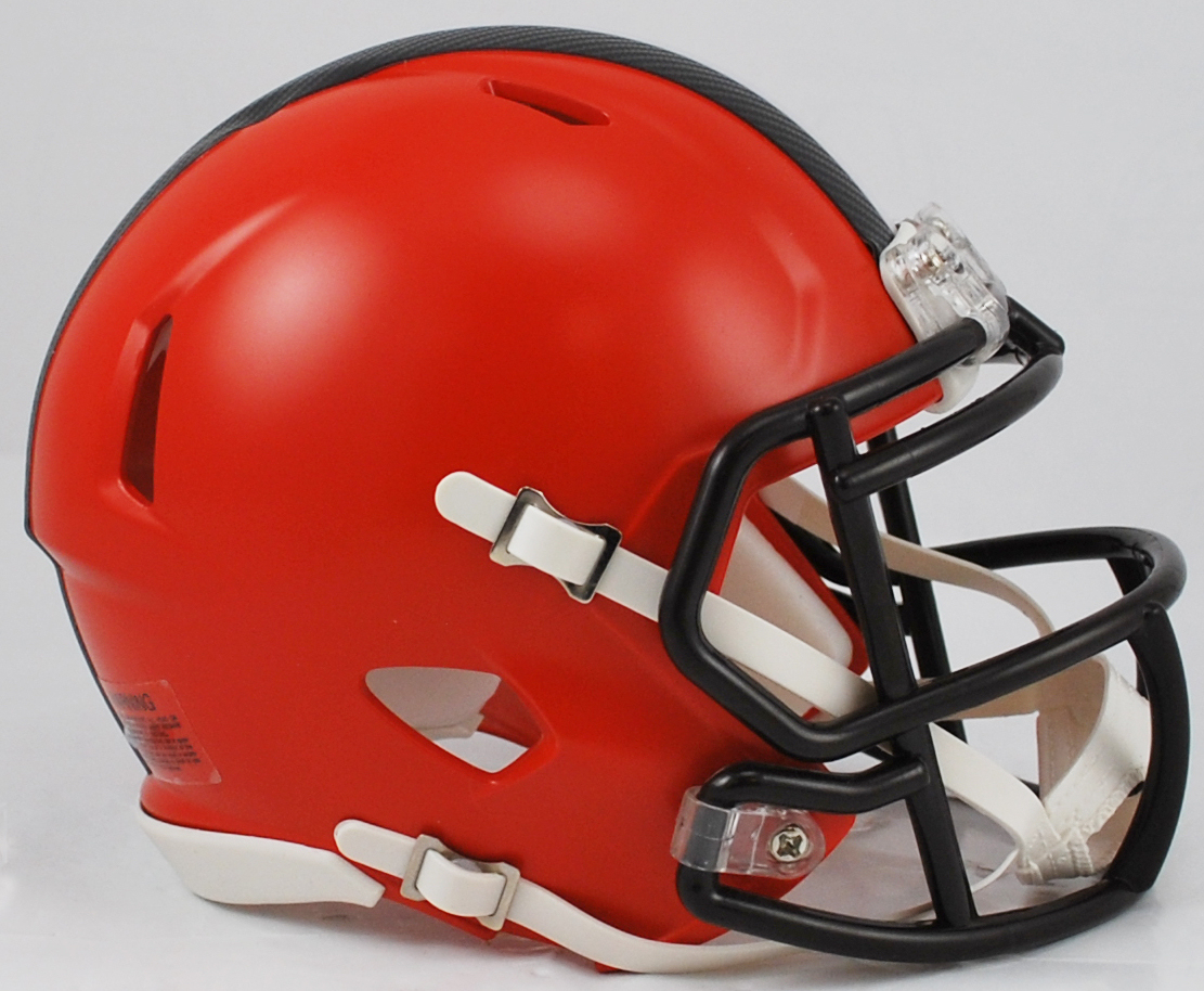 Cleveland Browns NFL Mini Speed Football Helmet