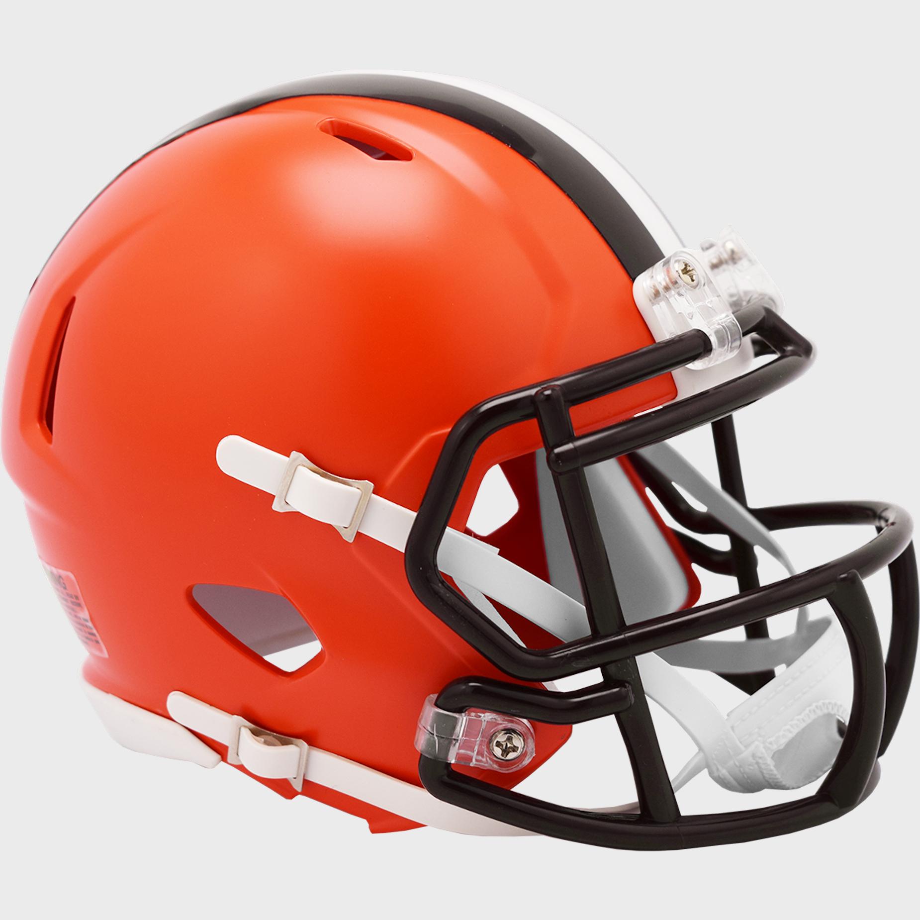 Cleveland Browns NFL Mini Speed Football Helmet