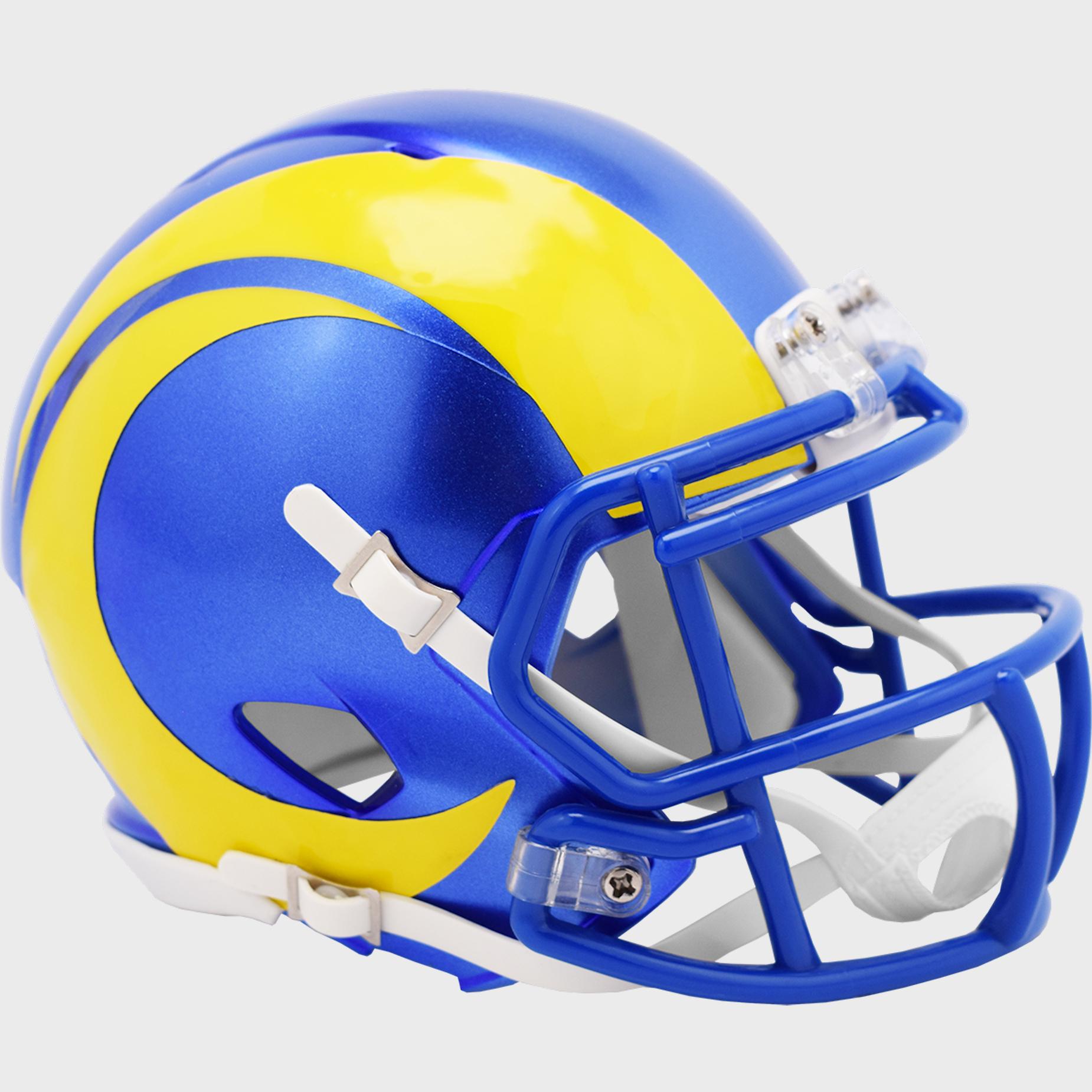 Los Angeles Rams NFL Mini Speed Football Helmet