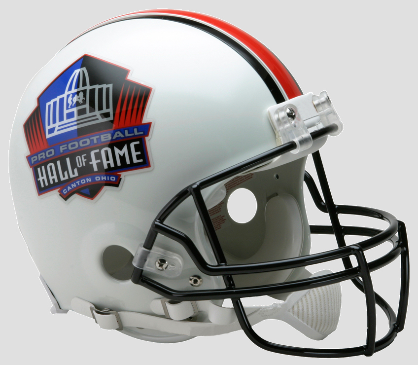 Hall of Fame Football Helmet