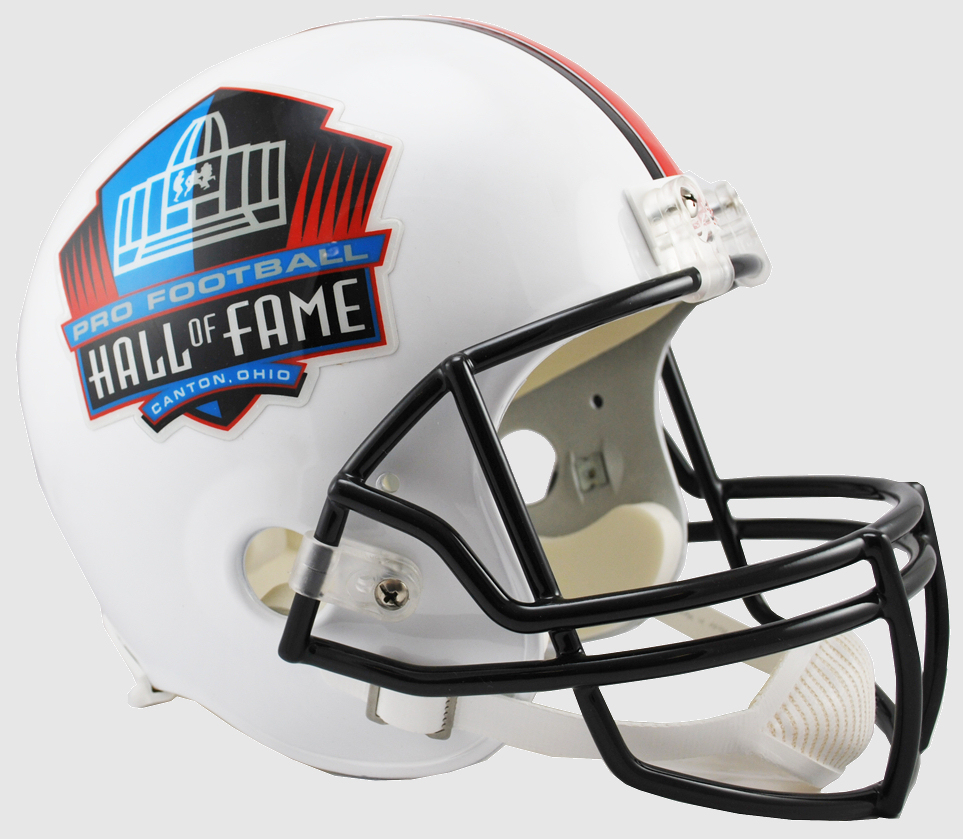 NFL Hall of Fame Full Size Replica Football Helmet