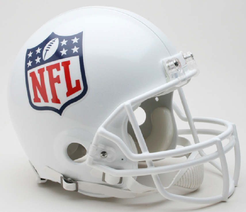 NFL Shield Logo Football Helmet