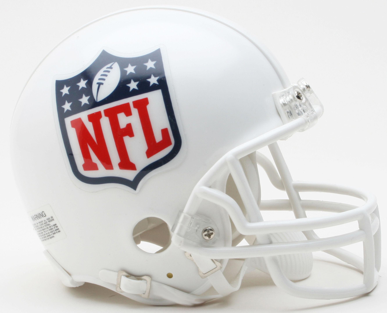 NFL Shield Logo NFL Mini Football Helmet