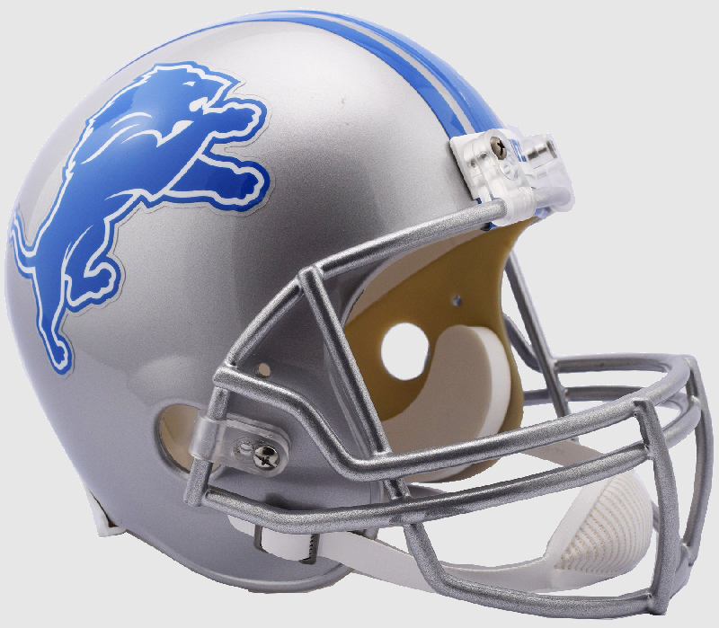 Detroit Lions Full Size Replica Football Helmet <B>NEW 2017</B>