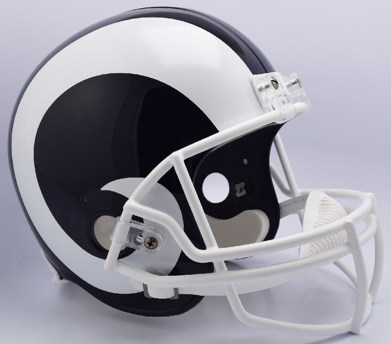 Los Angeles Rams Full Size Replica Football Helmet <B>New 2017</B>