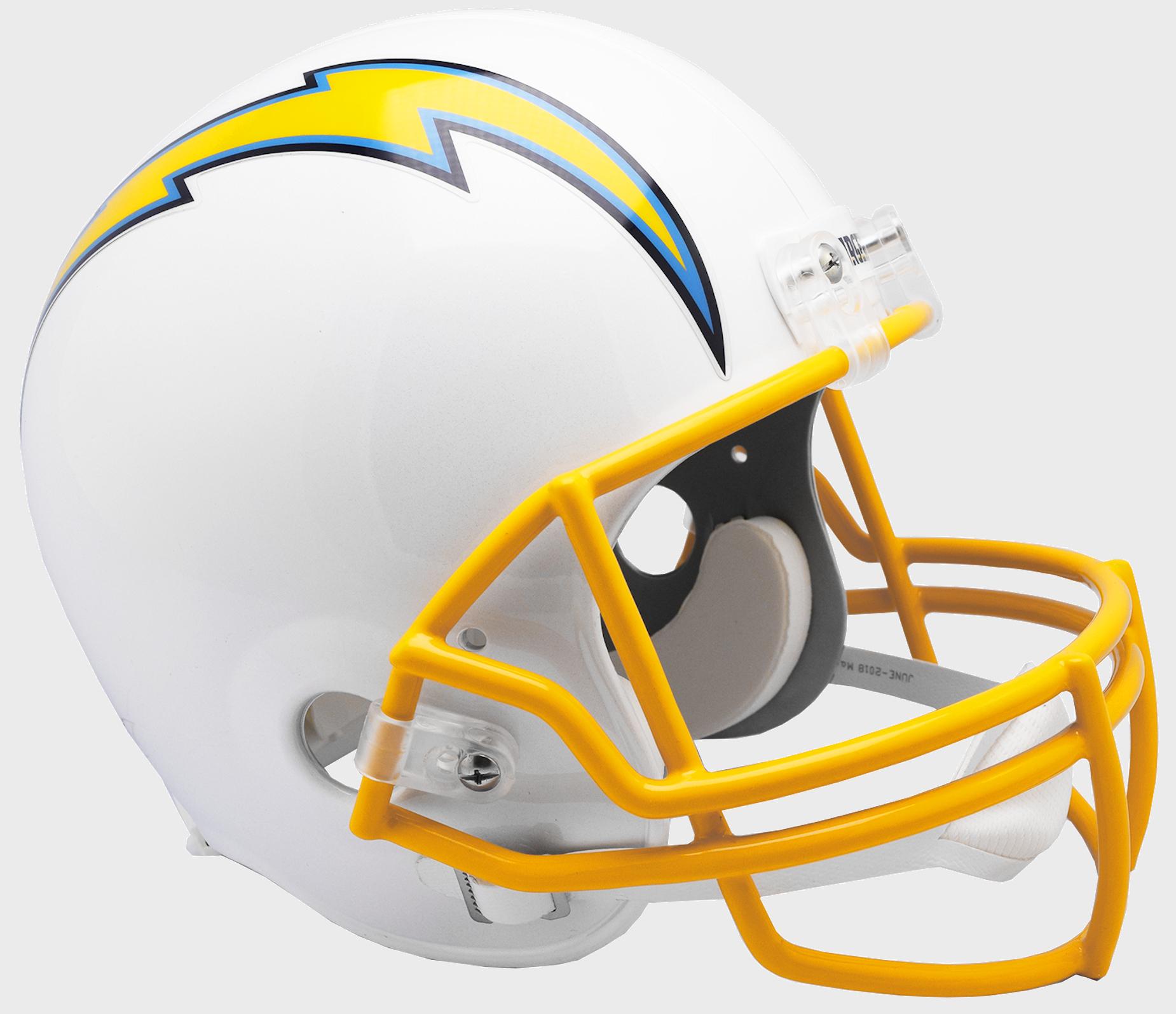 Los Angeles Chargers Full Size Replica Football Helmet <B>2019</B>