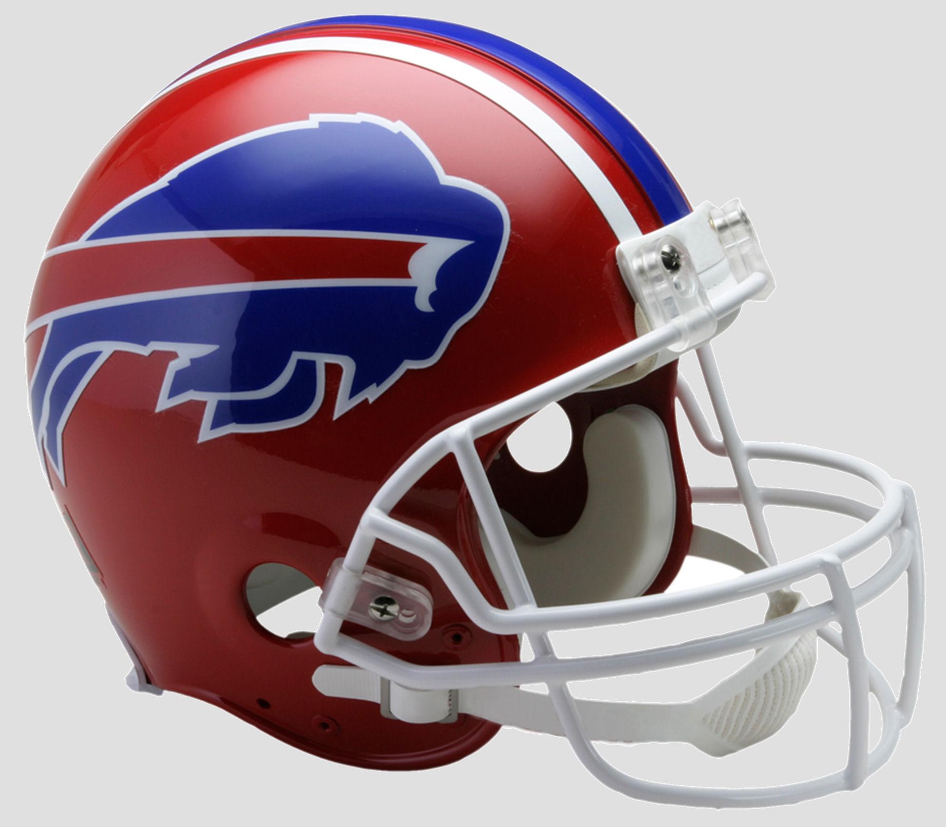 Buffalo Bills 1987 to 2001 Football Helmet