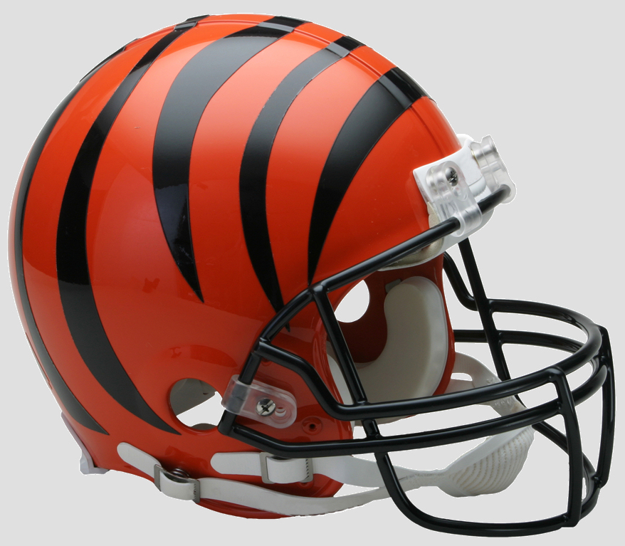 Cincinnati Bengals Football Helmet