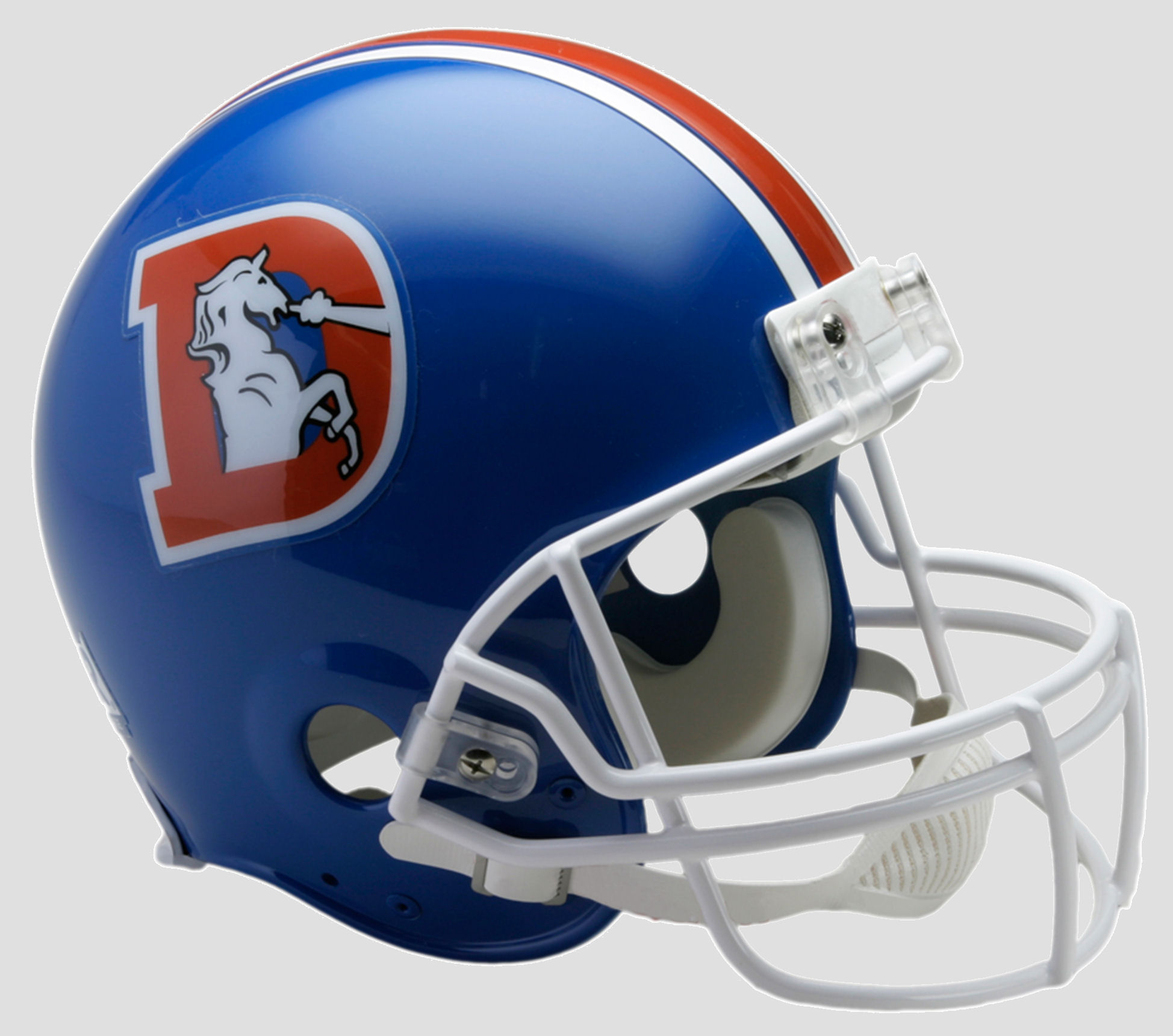 Denver Broncos 1975 to 1996 Football Helmet