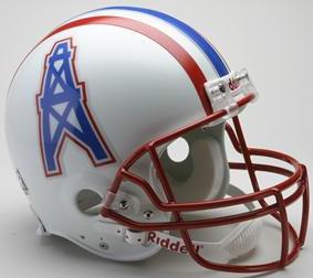 Houston Oilers 1981 to 1996 Football Helmet