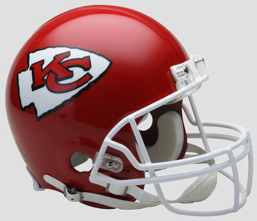 Kansas City Chiefs Football Helmet