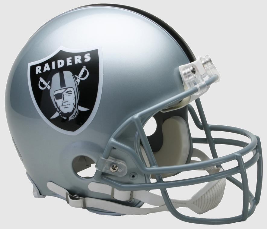 Las Vegas Raiders Football Helmet