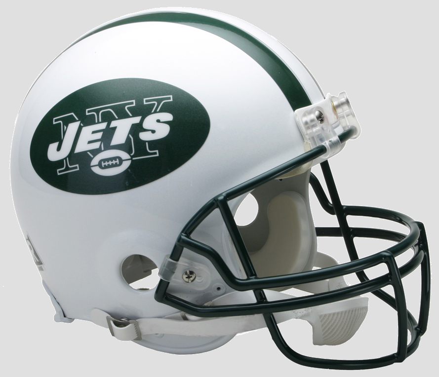 New York Jets Football Helmet