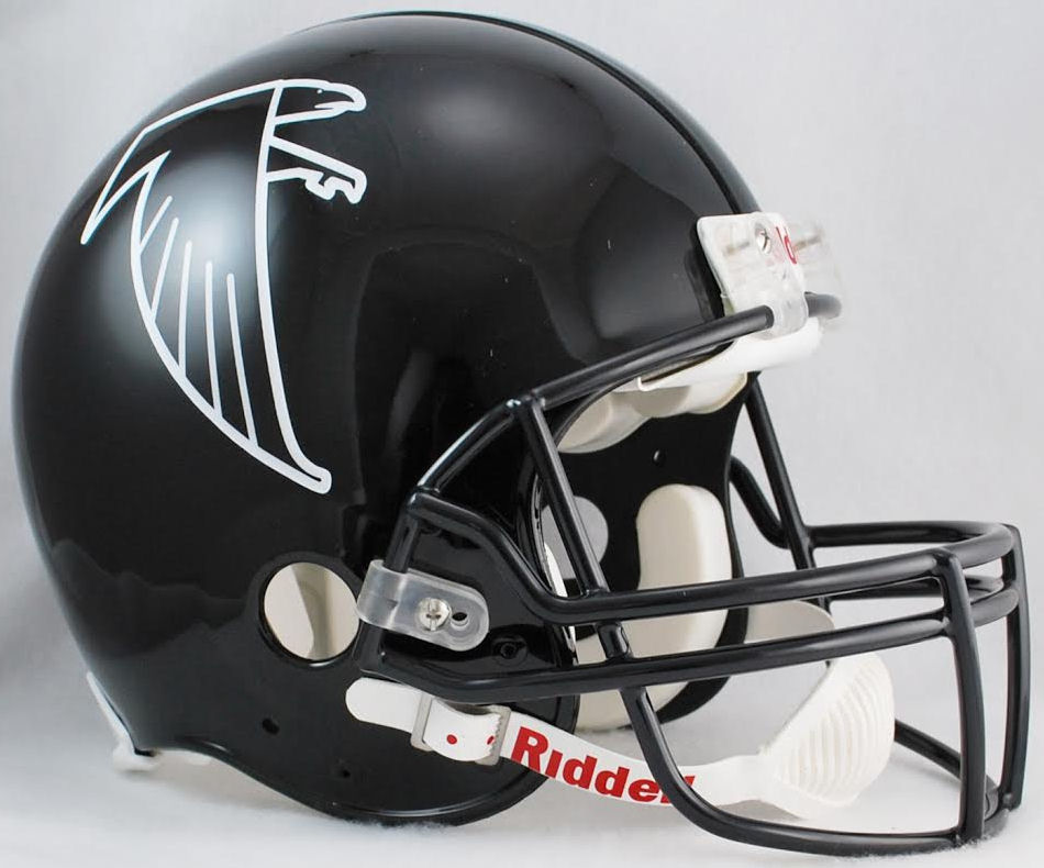 Atlanta Falcons 1990 to 2002 Football Helmet